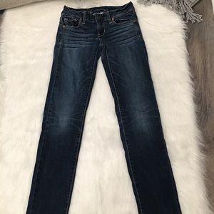 American Eagle Medium Super Stretch Skinny Jeans